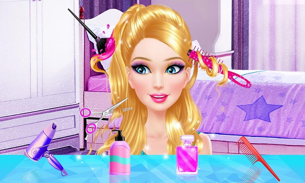 ألعاب بنات مكياج وتلبيس 2021 لعبة Fashion Doll Makeup Dress up