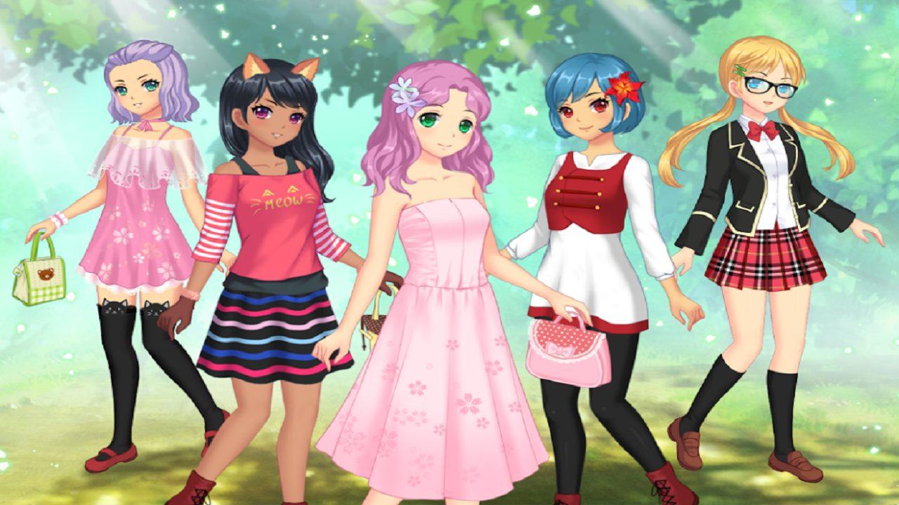 العاب تلبيس أنمي للبنات 2021 جوجل بلاي Anime Dress Up